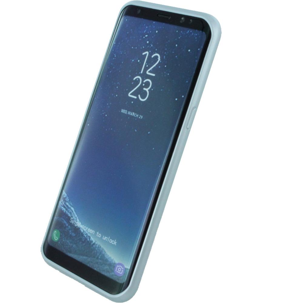 Husa Capac Spate Argintiu SAMSUNG Galaxy S8