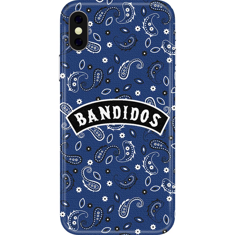 Husa Capac Spate Bandidos Albastru APPLE iPhone Xs