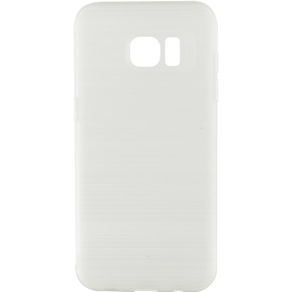 Husa Capac spate Brush Alb Samsung Galaxy S7 Edge