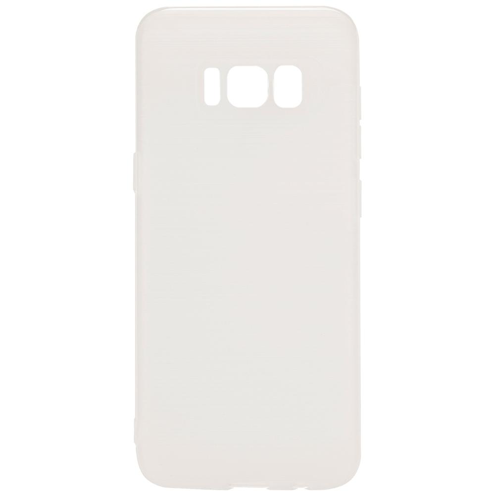 Husa Capac spate Brush Alb SAMSUNG Galaxy S8