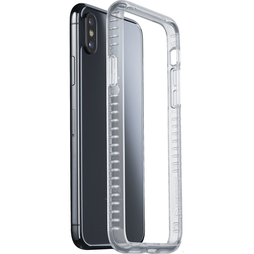 Husa Capac Spate Bumper Transparent APPLE iPhone X, iPhone Xs