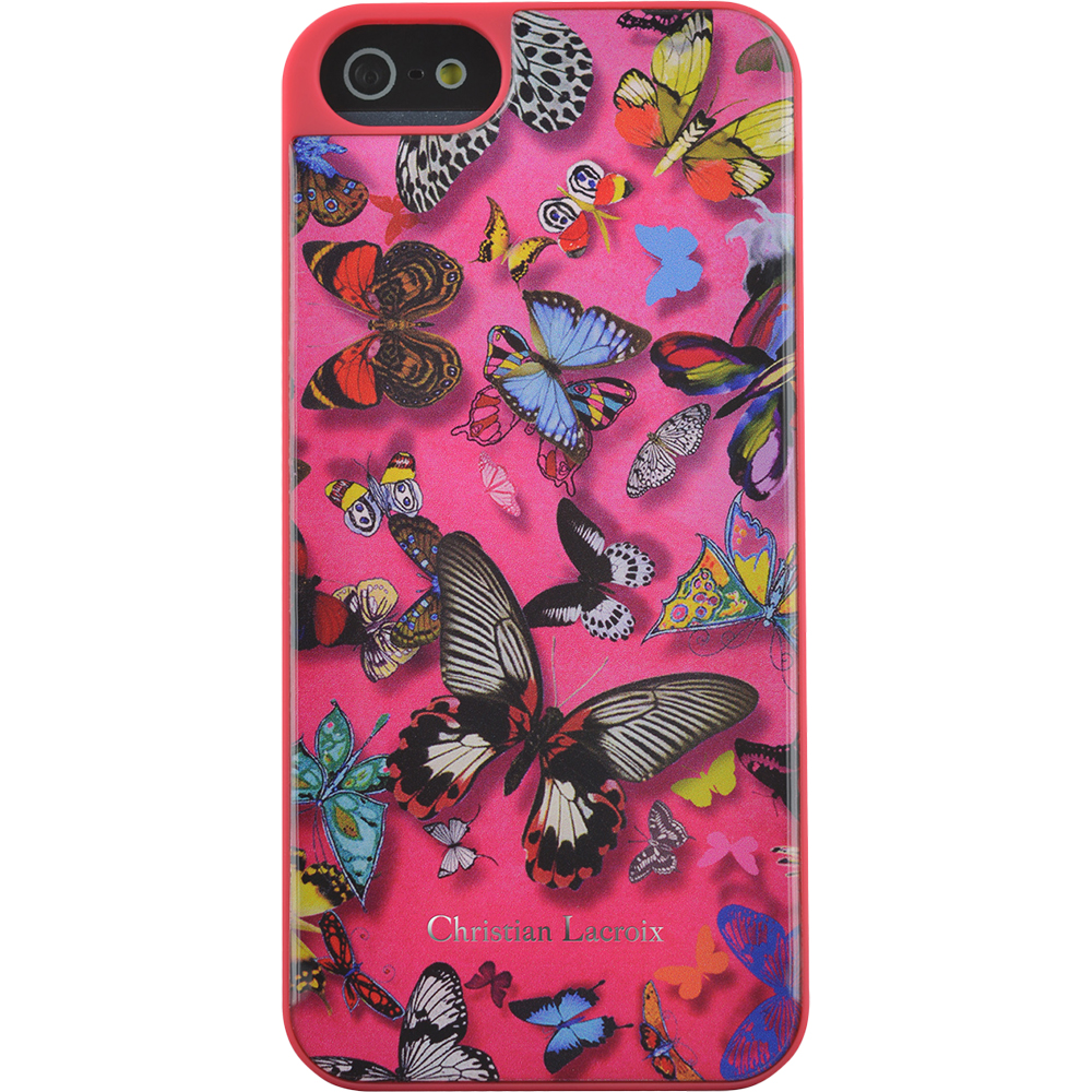 Husa Capac Spate Butterefly Parade Roz APPLE iPhone 6, iPhone 6S