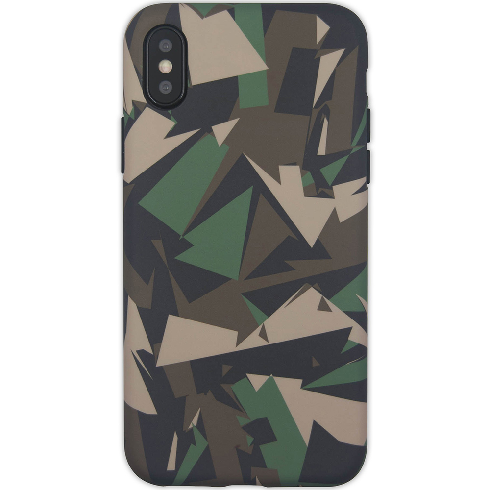Husa Capac Spate Camo APPLE iPhone X, iPhone Xs