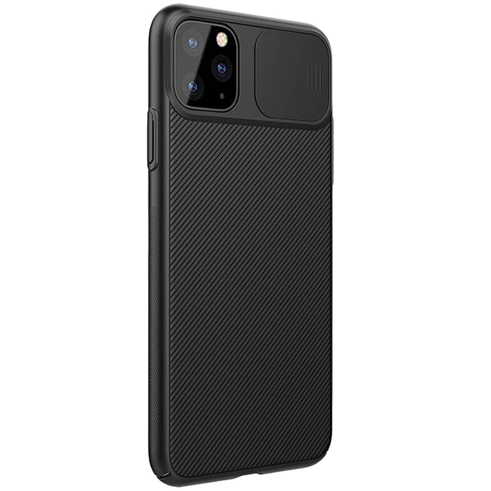 Husa Capac Spate CamShield Negru APPLE iPhone 11 Pro