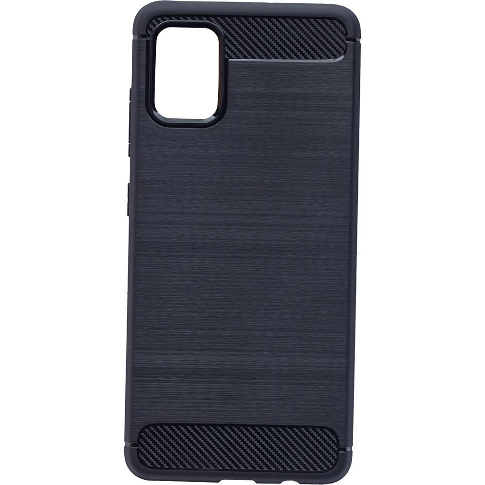 Husa Capac Spate Carbon Negru SAMSUNG Galaxy A51