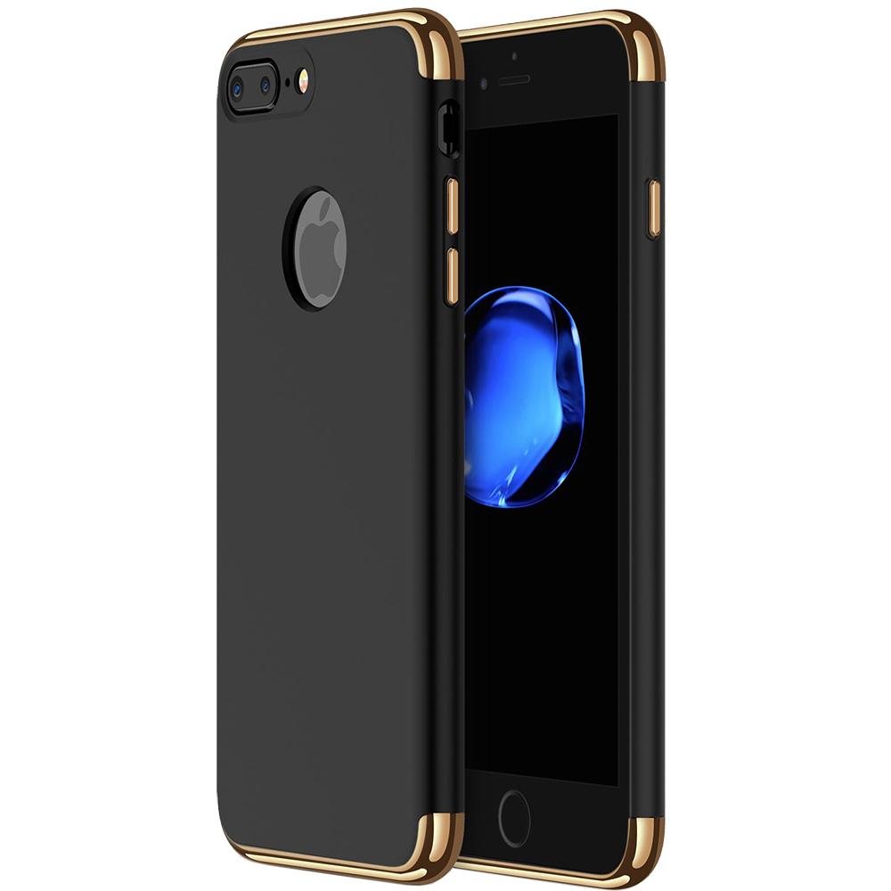 Husa Capac spate Case Negru Apple iPhone 7 Plus, iPhone 8 Plus