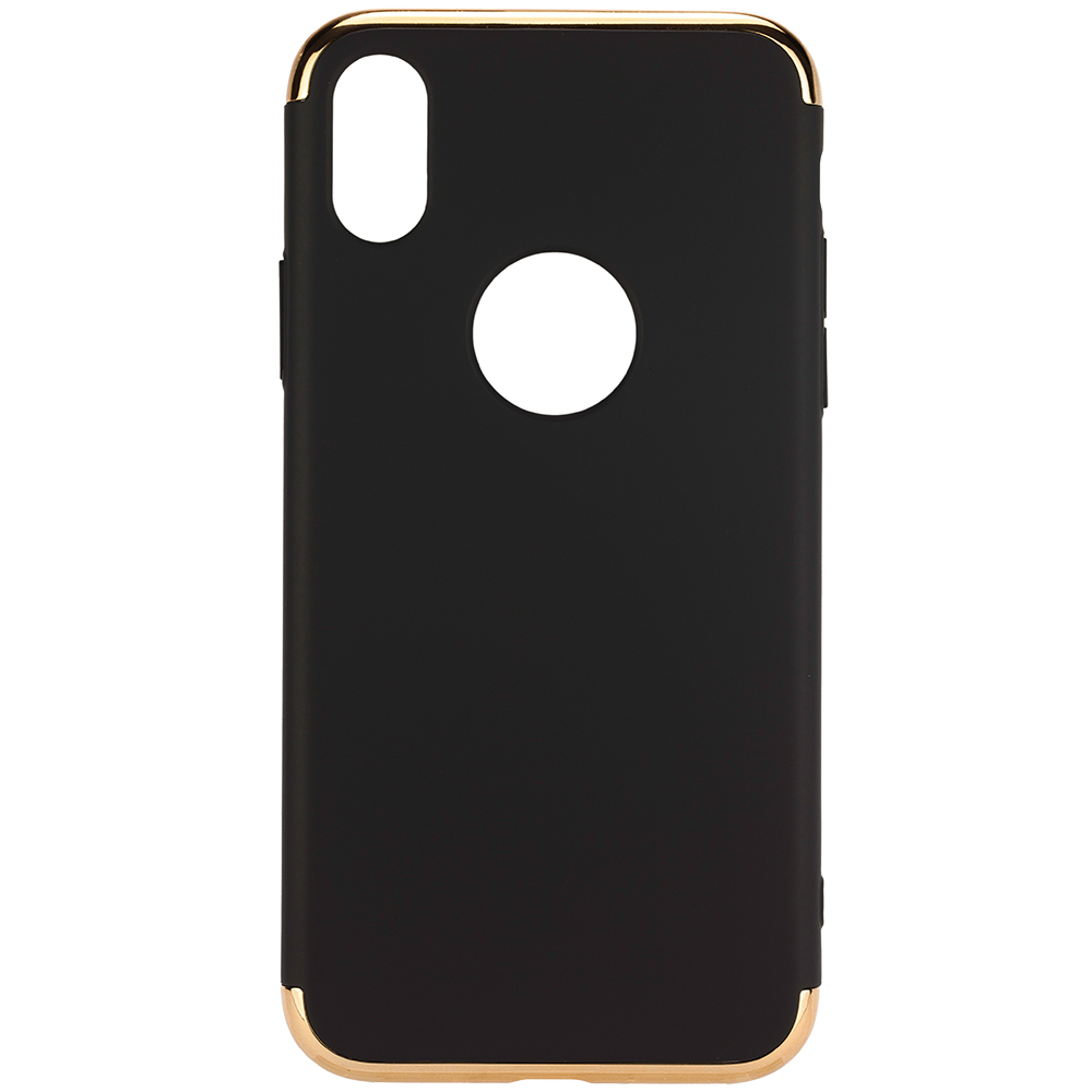 Husa Capac spate Case Negru APPLE iPhone X, iPhone Xs
