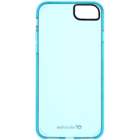 Husa Capac Spate Clear Color Albastru Apple iPhone 7, iPhone 8, iPhone SE 2020