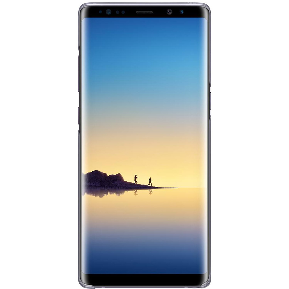 Husa Capac Spate Clear Gri SAMSUNG Galaxy Note 8