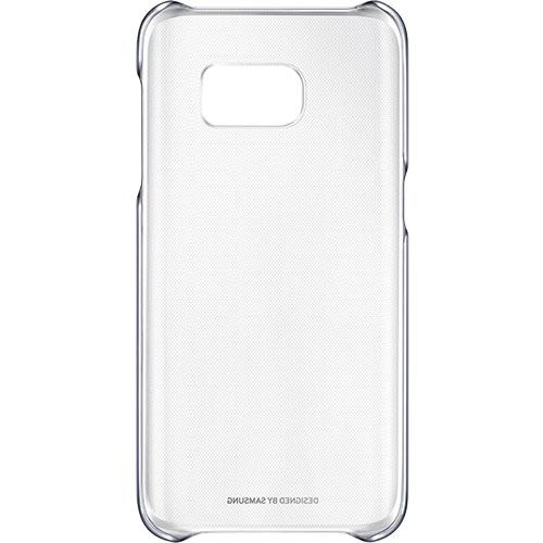 Husa Capac spate Clear Negru Samsung Galaxy S7 Edge
