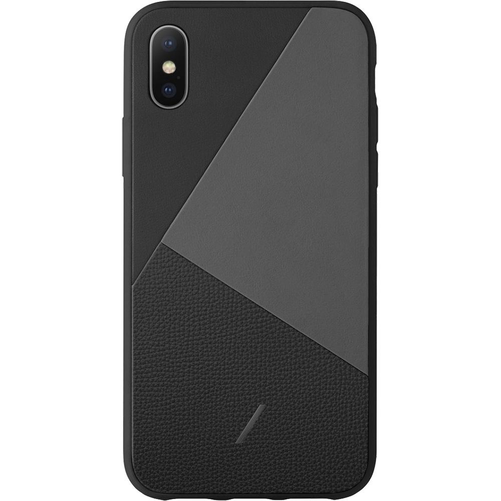 Husa Capac Spate Clic Marquertry, calitate super premium,  Negru APPLE iPhone X, iPhone Xs