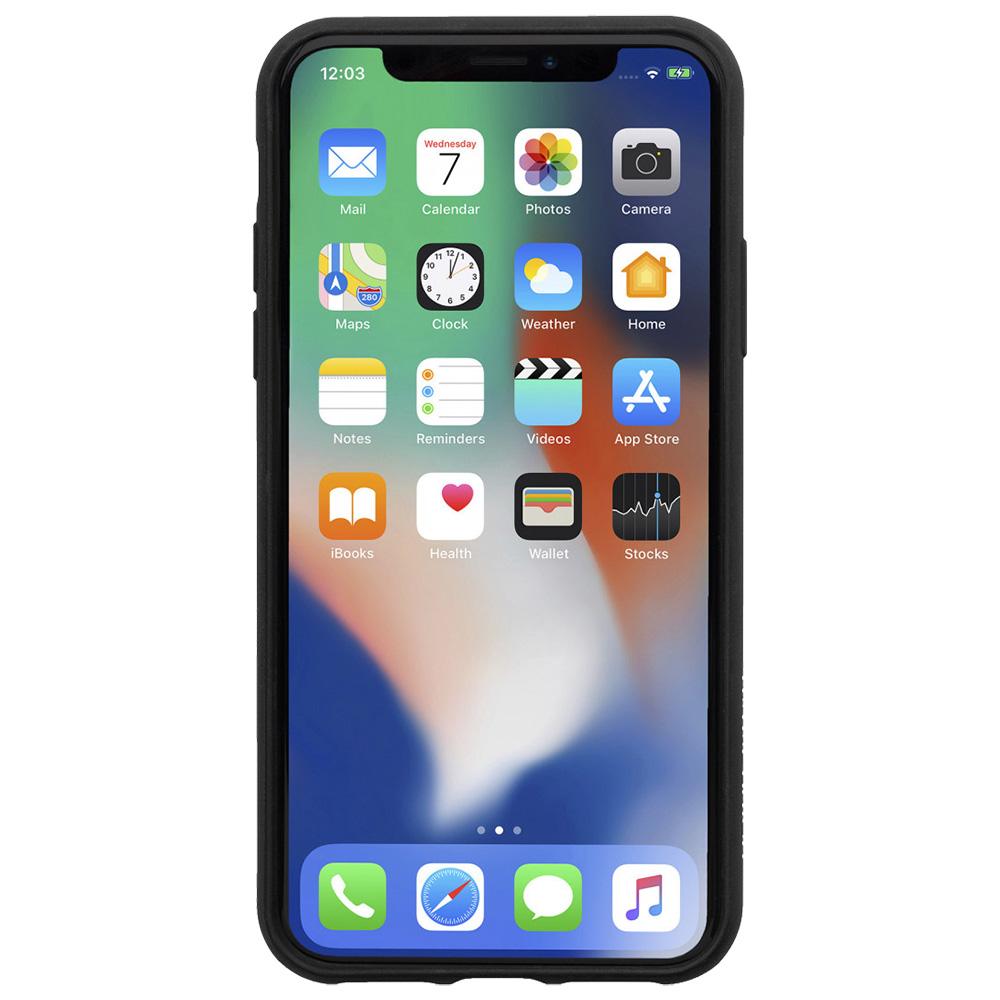 Husa Capac Spate Clic Marquetry Negru APPLE iPhone Xs Max