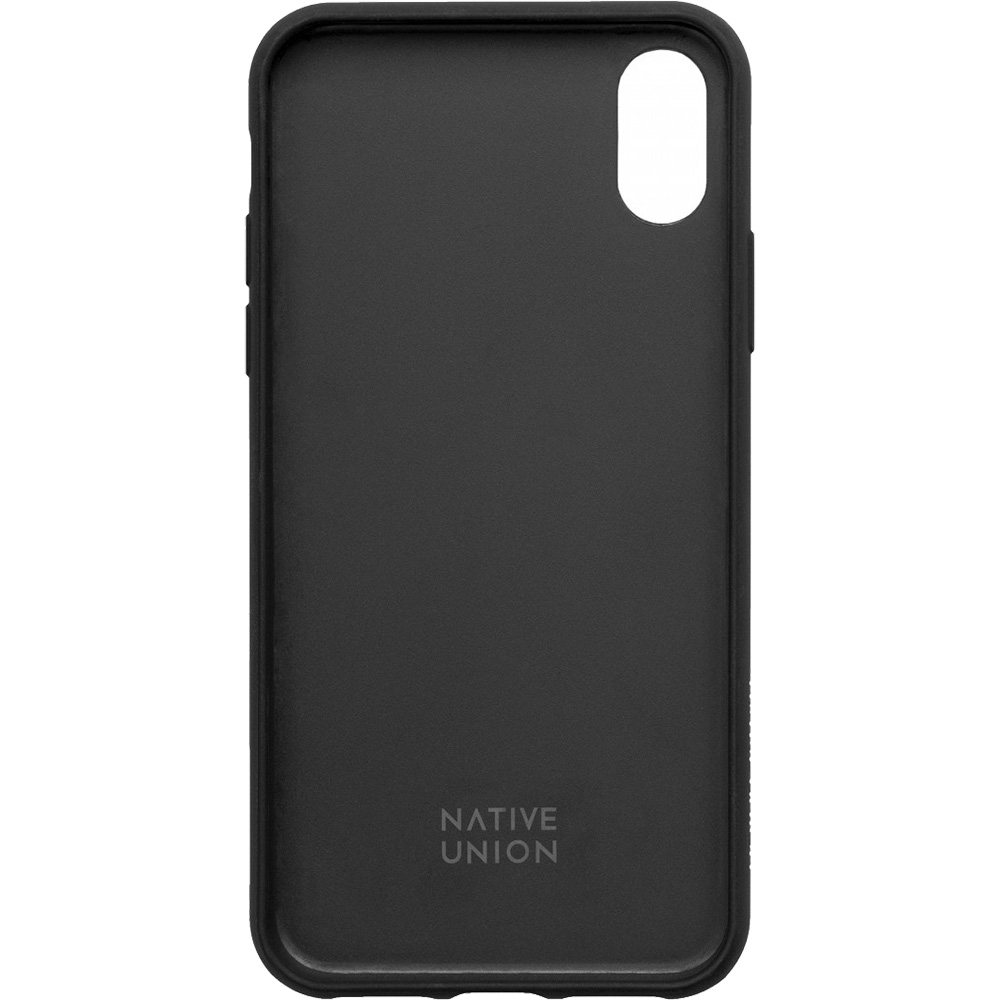 Husa Capac Spate Clic Terrazzo Negru APPLE iPhone Xs Max