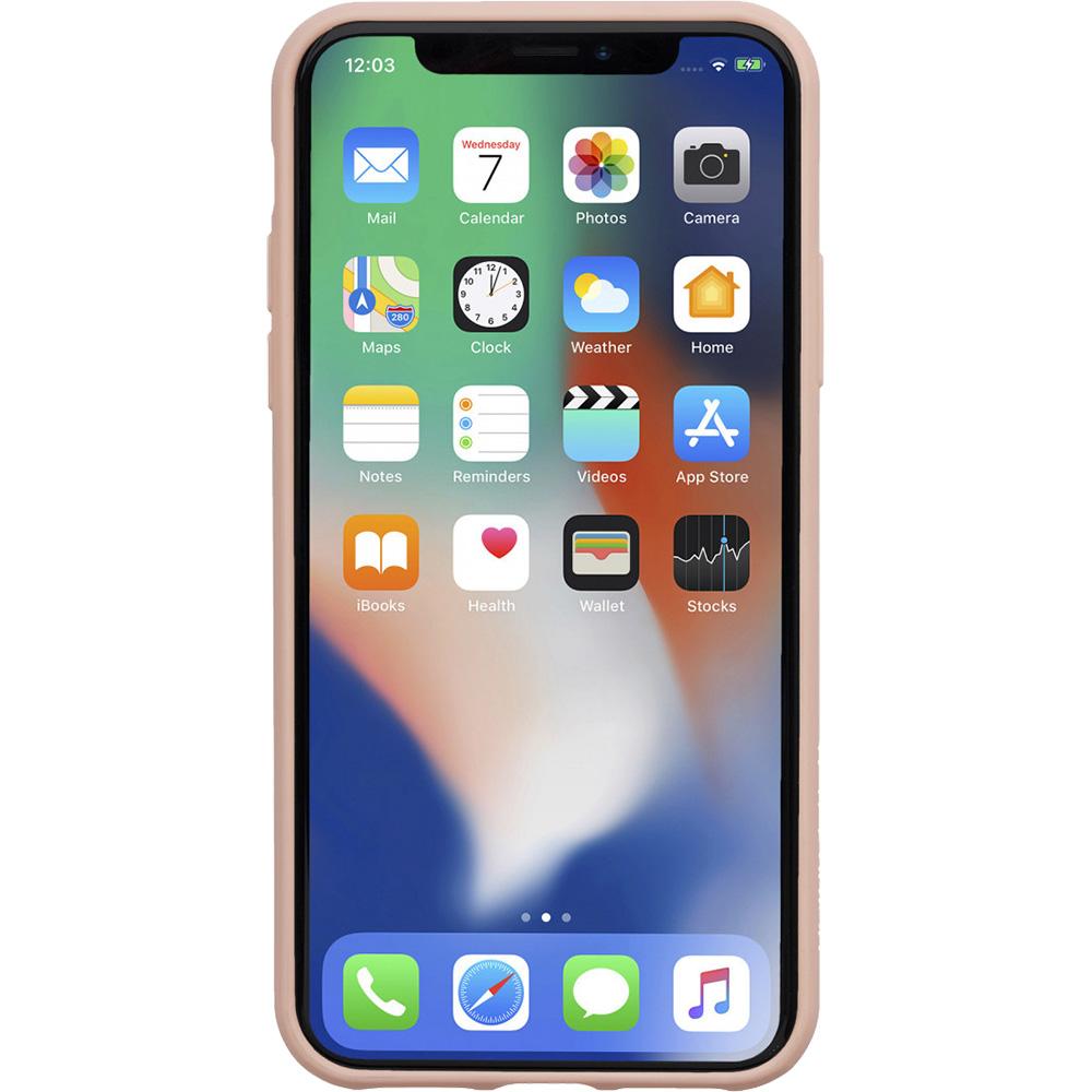 Husa Capac Spate Clic Terrazzo Roz APPLE iPhone X, iPhone Xs
