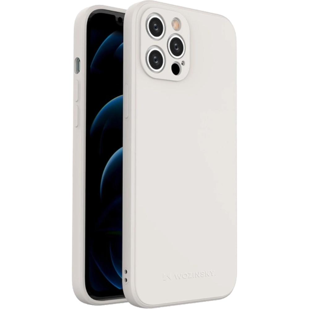 Husa Capac Spate Color Alb APPLE Iphone 12 Pro Max