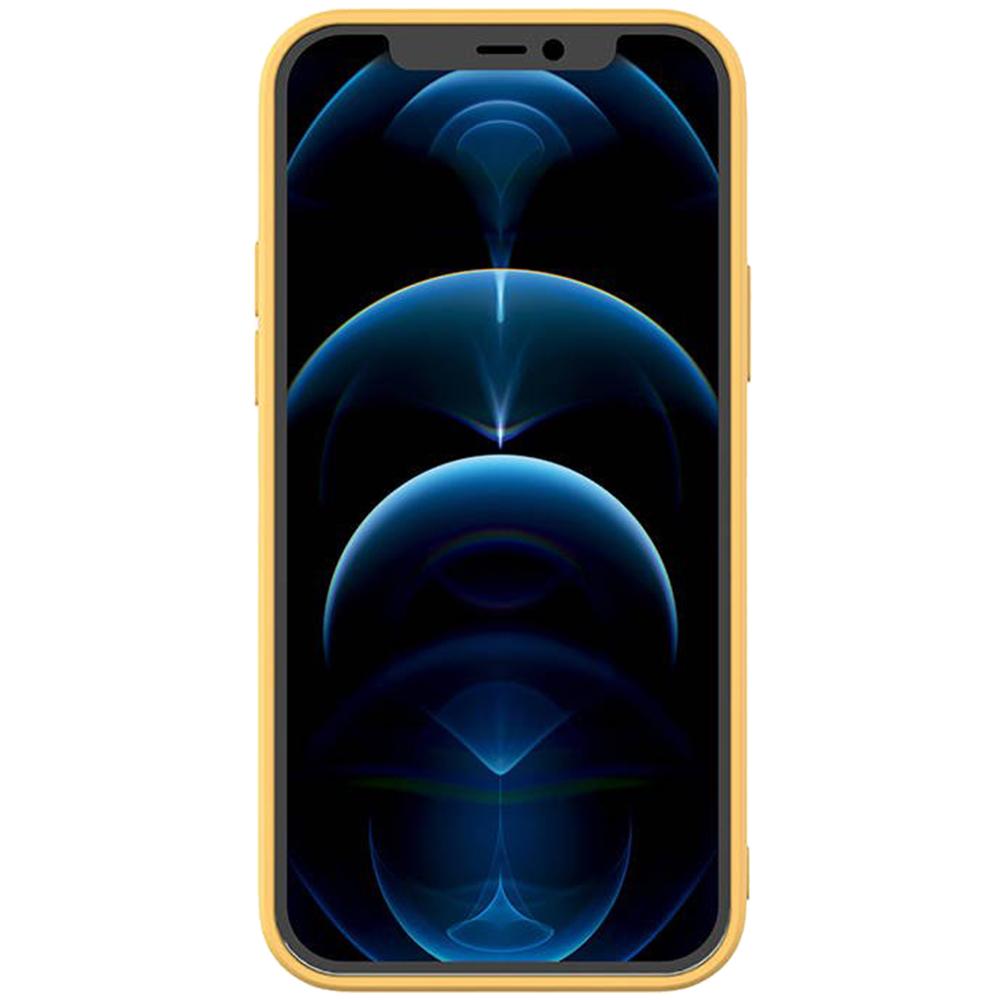 Husa Capac Spate Color Galben APPLE Iphone 12 Pro Max