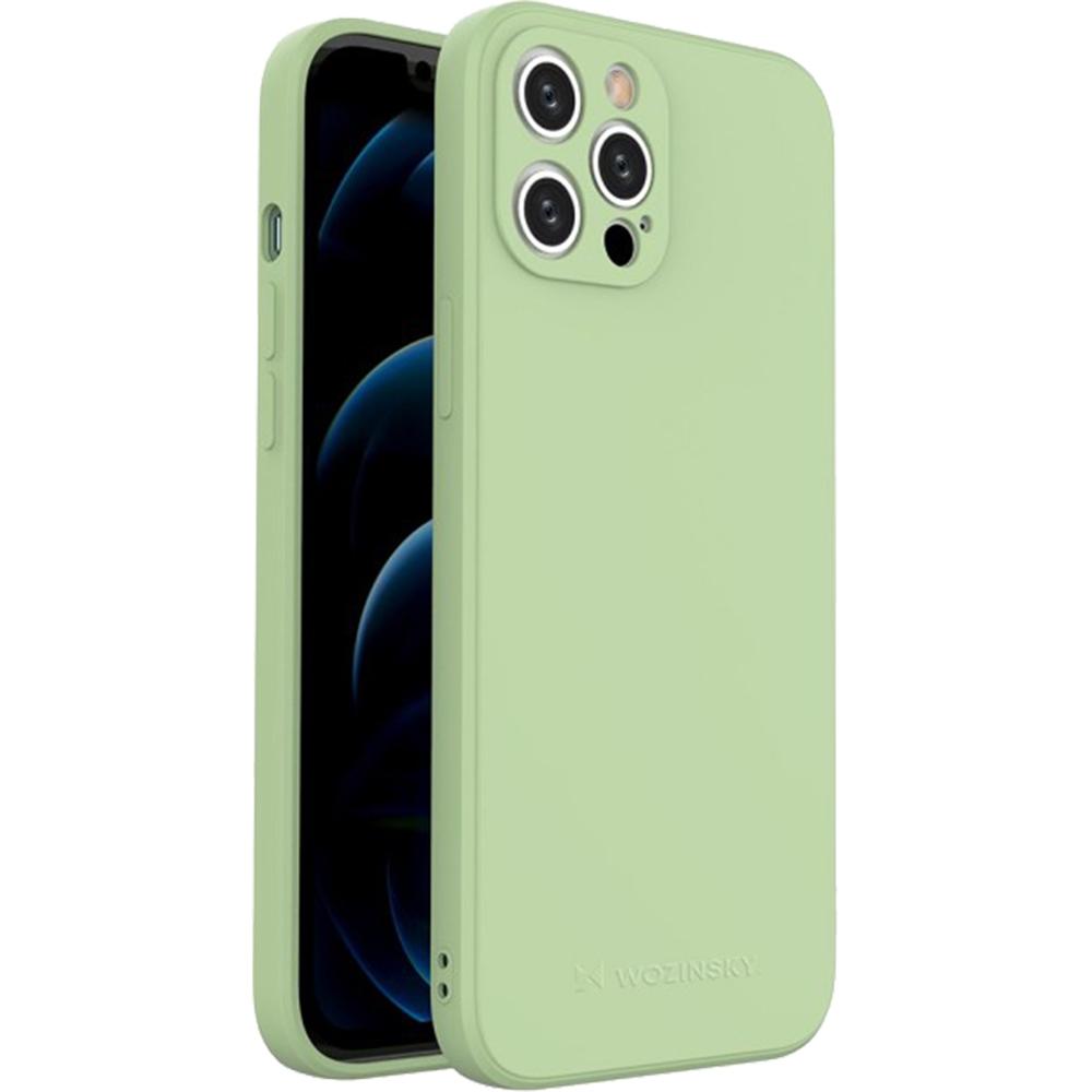 Husa Capac Spate Color Verde APPLE Iphone 12 Pro Max