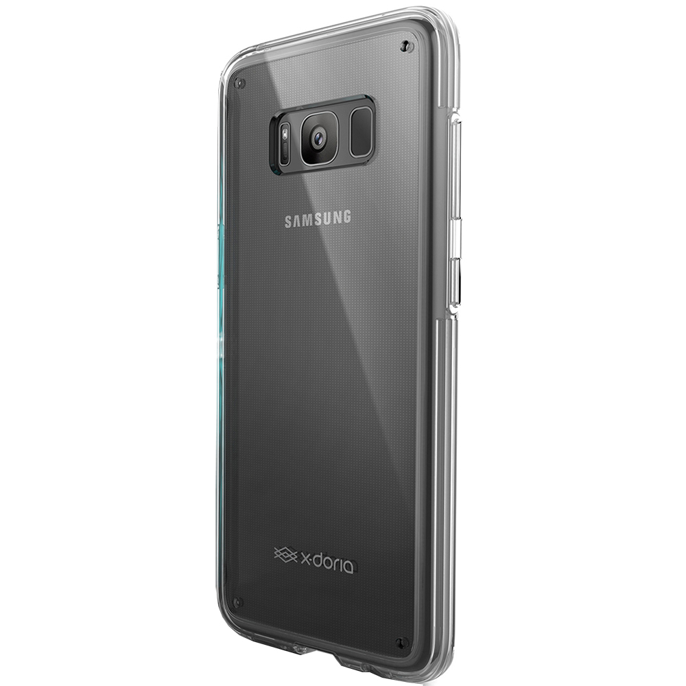 Husa Capac Spate Coque Clearvue 360 Transparent SAMSUNG Galaxy S8