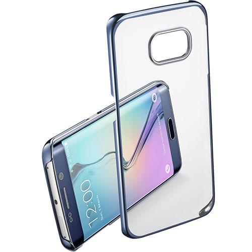 Husa Capac spate Crystal Rigid Albastru SAMSUNG Galaxy S6 Edge
