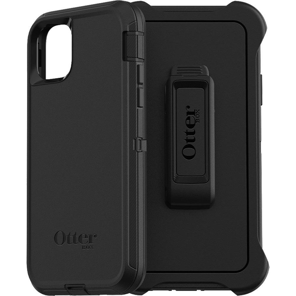 Husa Capac Spate Defender Negru APPLE iPhone 11 Pro Max