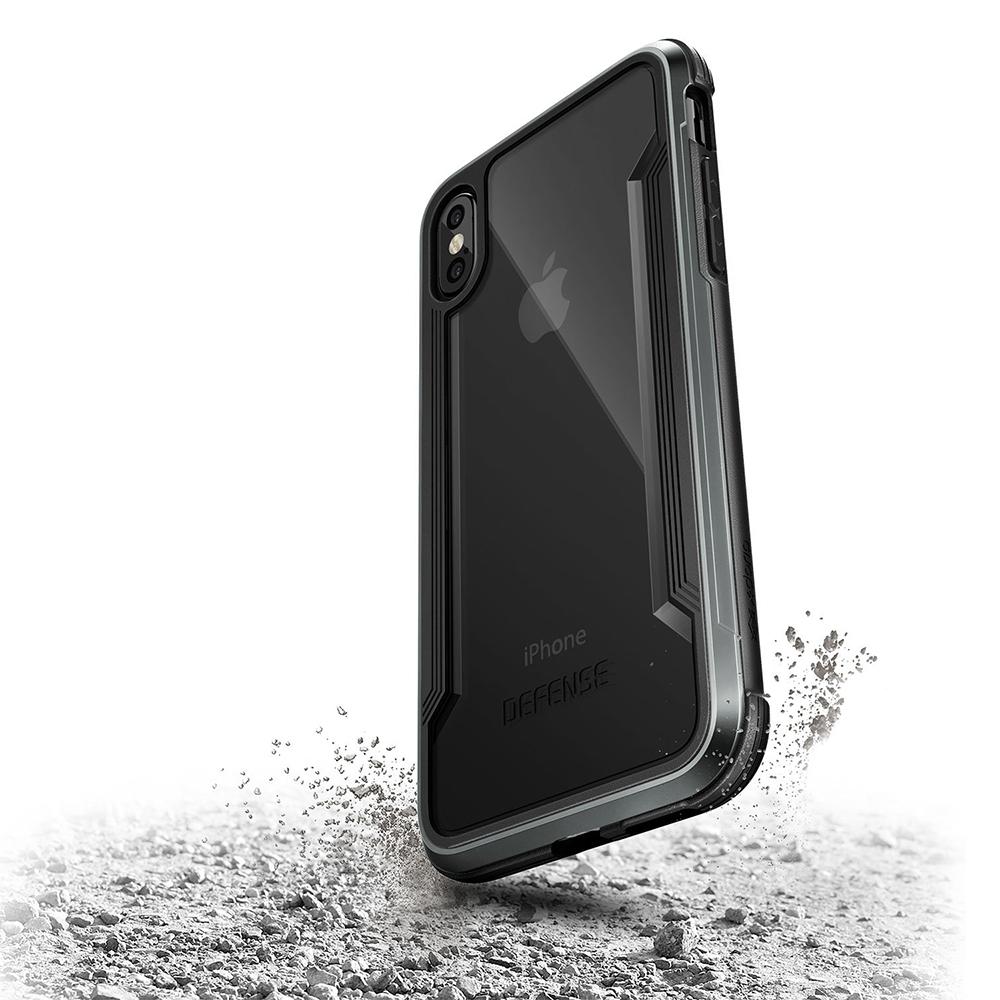 Husa Capac Spate Defense Negru APPLE iPhone X, iPhone Xs
