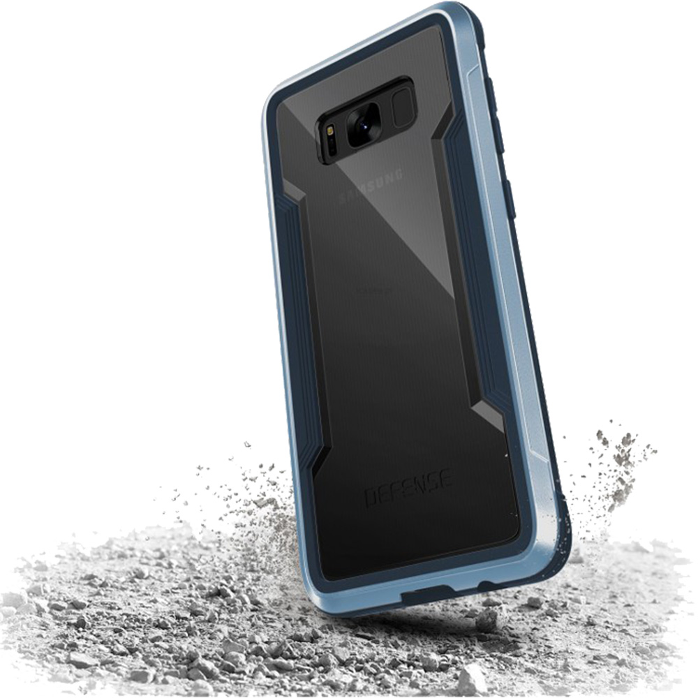 Husa Capac Spate Defense Shield Metallic Negru SAMSUNG Galaxy S8 Plus