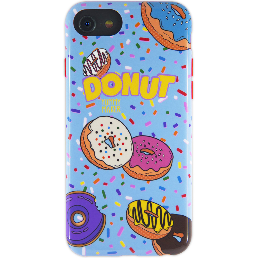 Husa Capac Spate Donut Apple iPhone 7, iPhone 8, iPhone SE 2020
