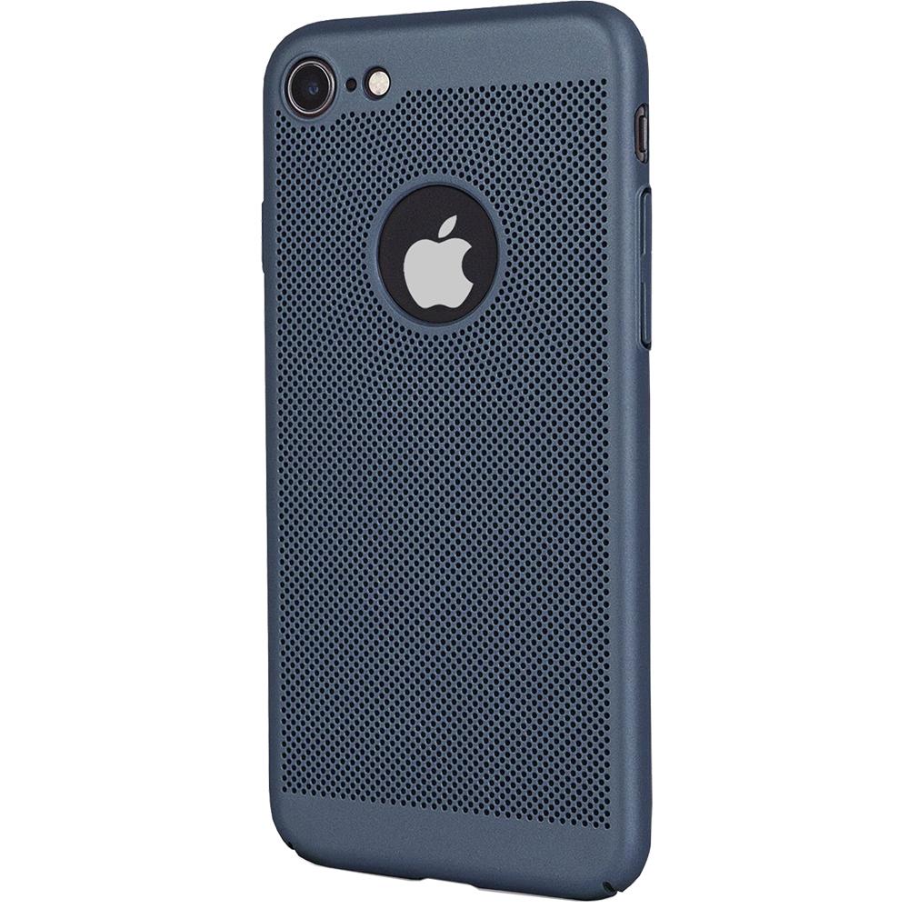 Husa Capac spate Dot Albastru Apple iPhone 7, iPhone 8