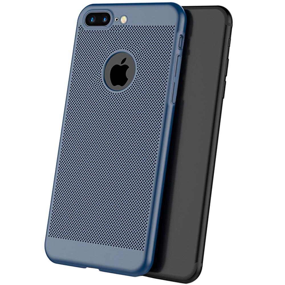 Husa Capac Spate Dot Albastru Apple iPhone 7 Plus, iPhone 8 Plus