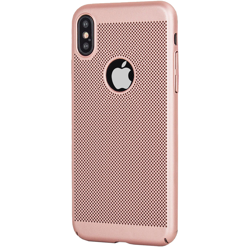 Husa Capac Spate Dot Roz APPLE iPhone X, iPhone Xs