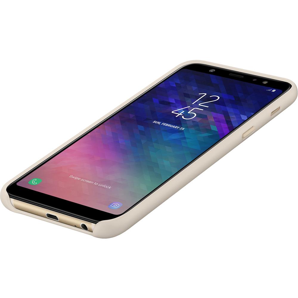 Husa Capac Spate Dual Layer Auriu SAMSUNG Galaxy A6 Plus (2018)