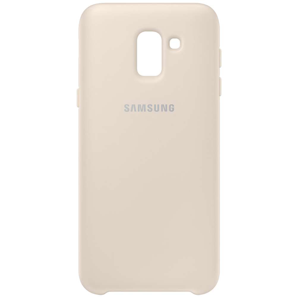 Husa Capac Spate Dual Layer Auriu SAMSUNG Galaxy J6 2018