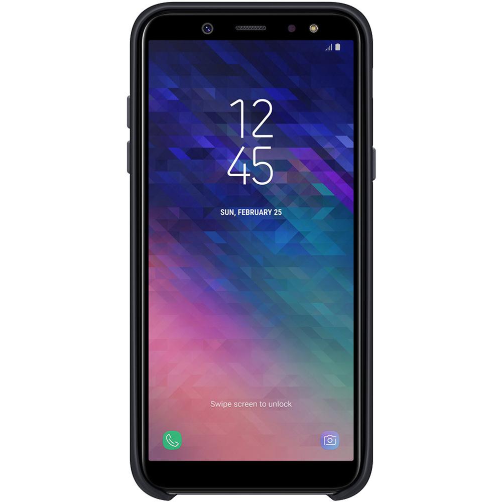 Husa Capac Spate Dual Layer Negru SAMSUNG Galaxy A6 (2018)