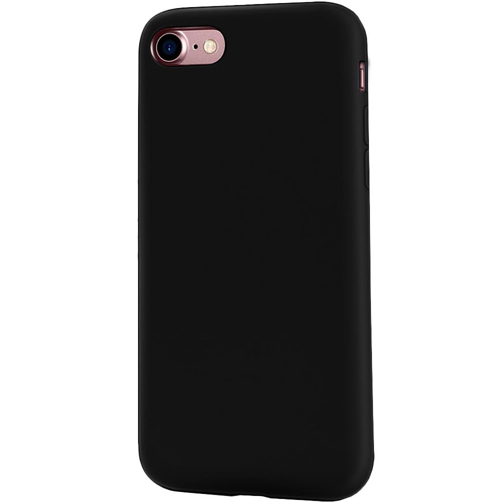 Husa Capac Spate Flexibila Negru Apple iPhone 7, iPhone 8, iPhone SE 2020