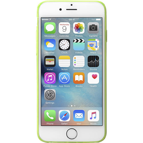 Husa Capac Spate Fluo Verde APPLE iPhone 6, iPhone 6S