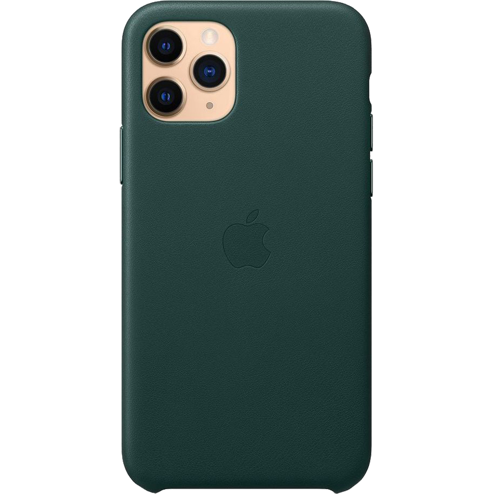 Husa Capac Spate Forest Piele Verde APPLE iPhone 11 Pro Max