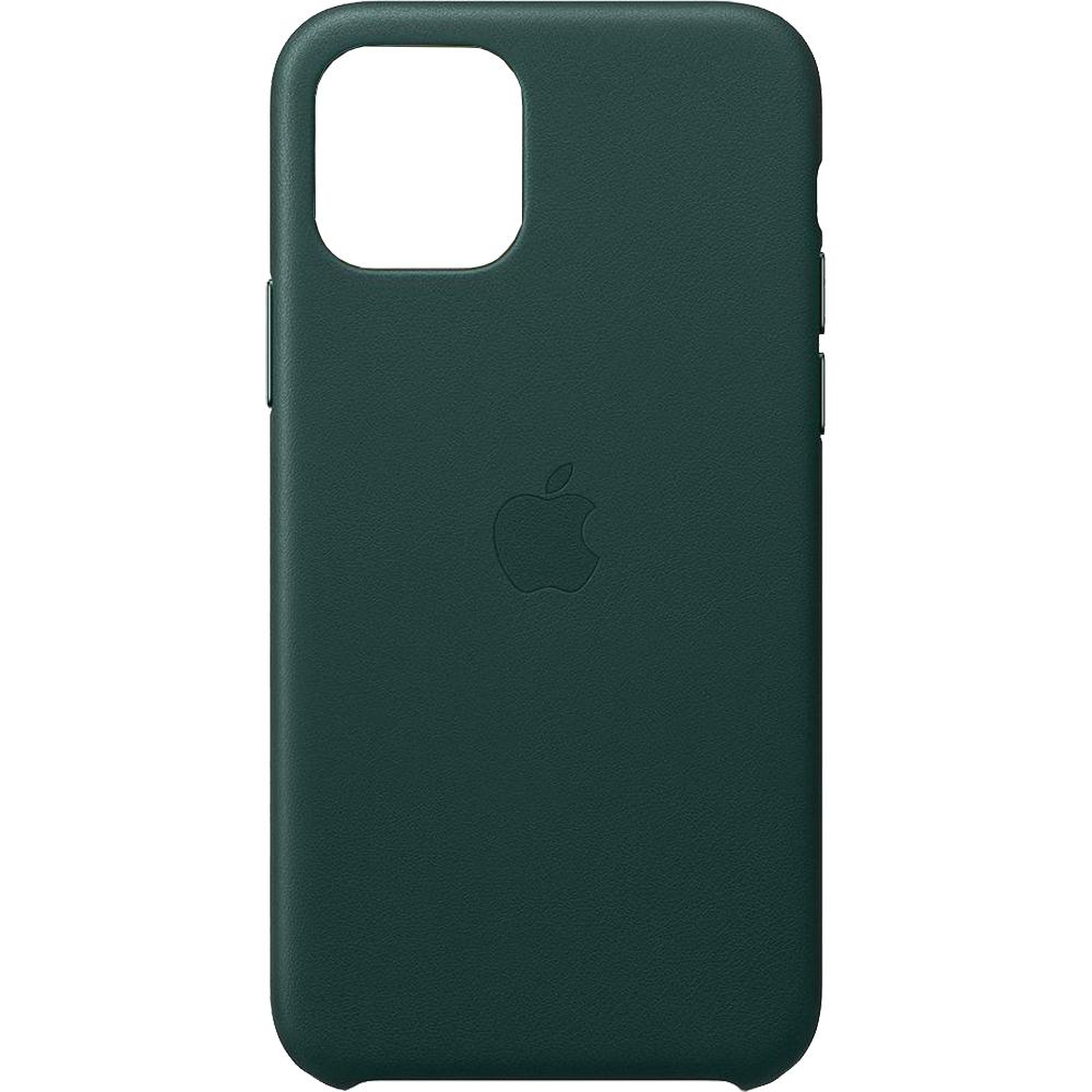 Husa originala din Piele Forest Verde pentru Apple iPhone 11
