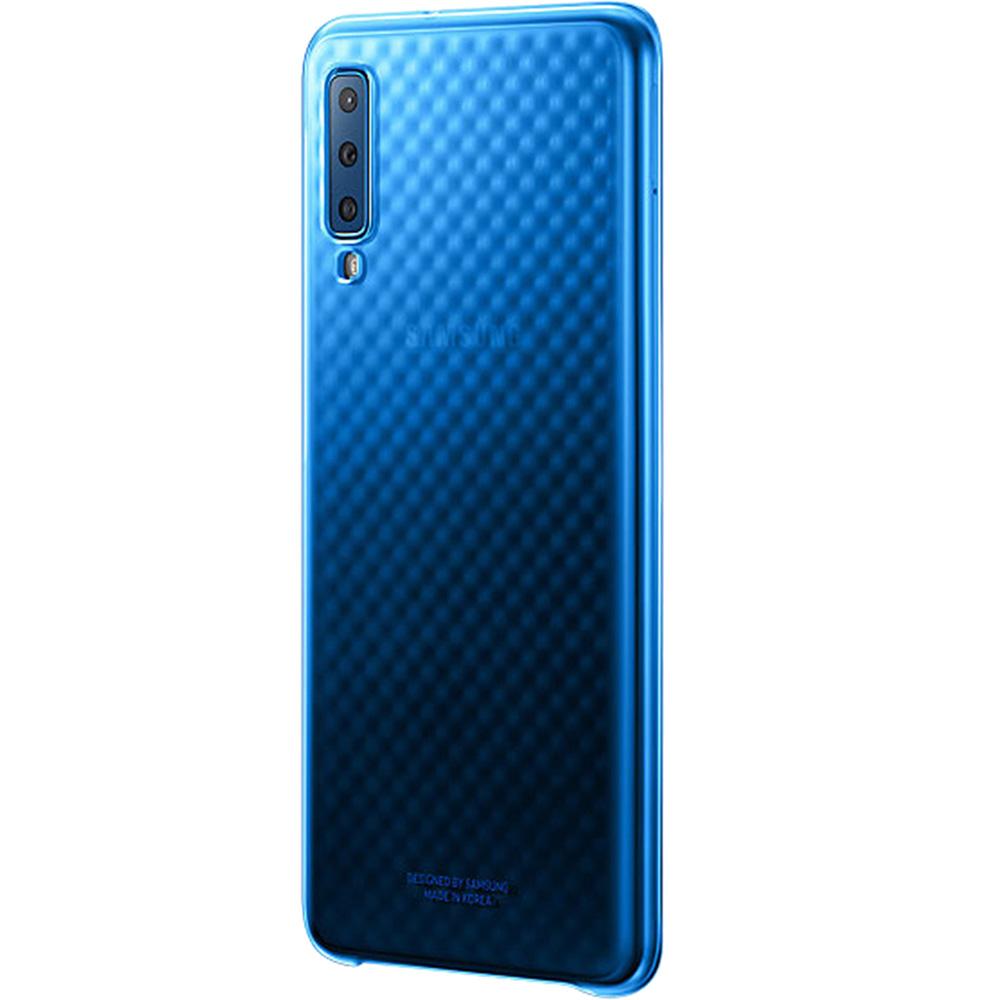 Husa Capac Spate Gradation Albastru SAMSUNG Galaxy A7 ( 2018)