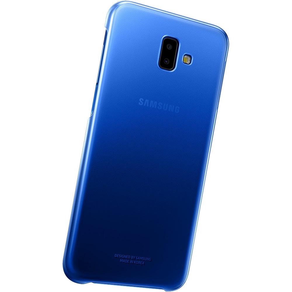 Husa Capac Spate Gradation Albastru SAMSUNG Galaxy J6 Plus