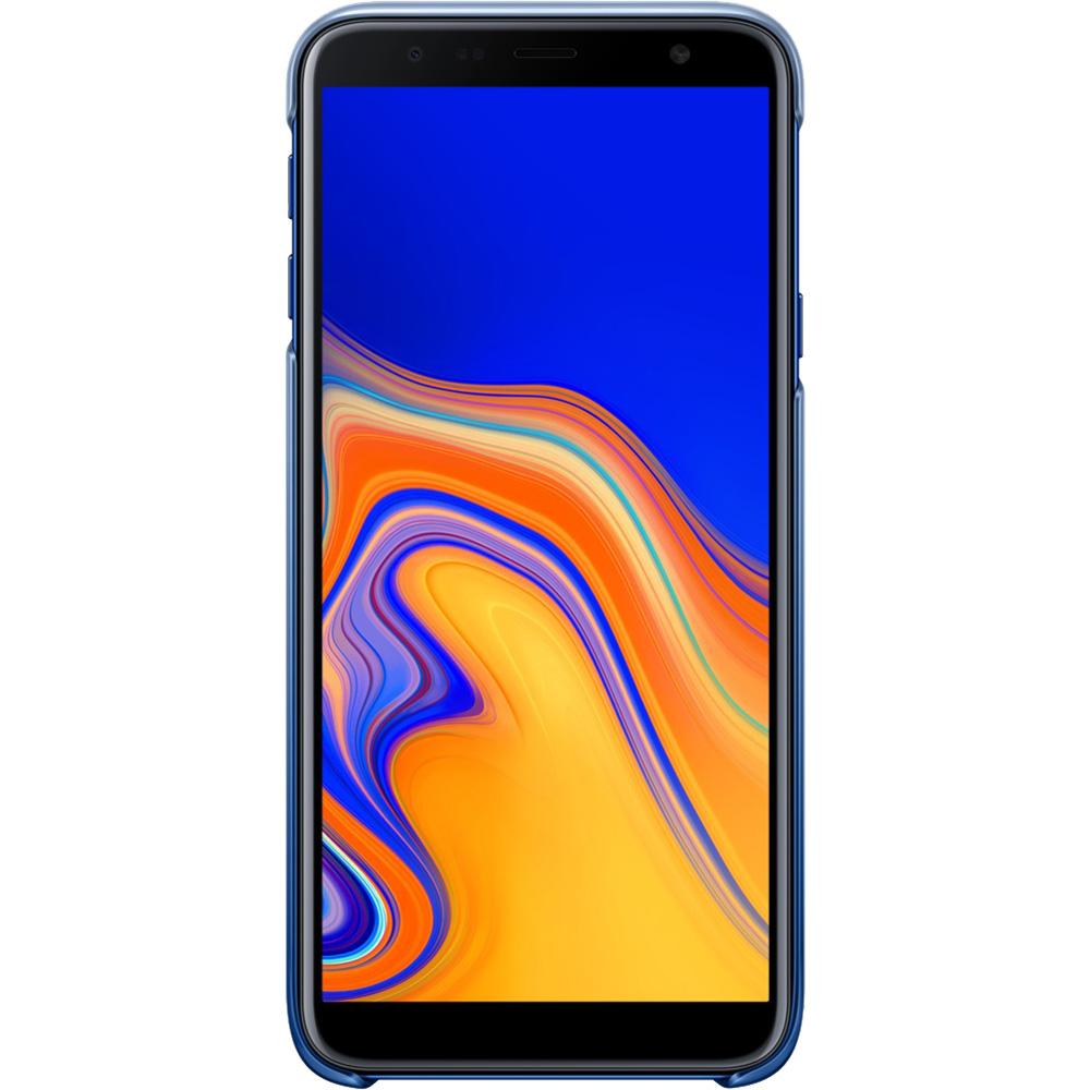 Husa Capac Spate Gradation Albastru SAMSUNG Galaxy J4 Plus 2018