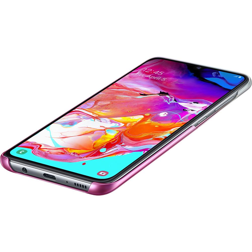 Husa Capac Spate Gradation Roz SAMSUNG Galaxy A70