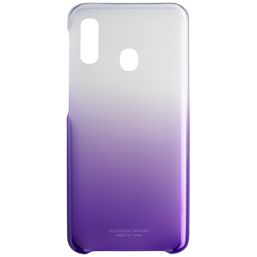 Husa Capac Spate Gradation Violet SAMSUNG Galaxy A20e