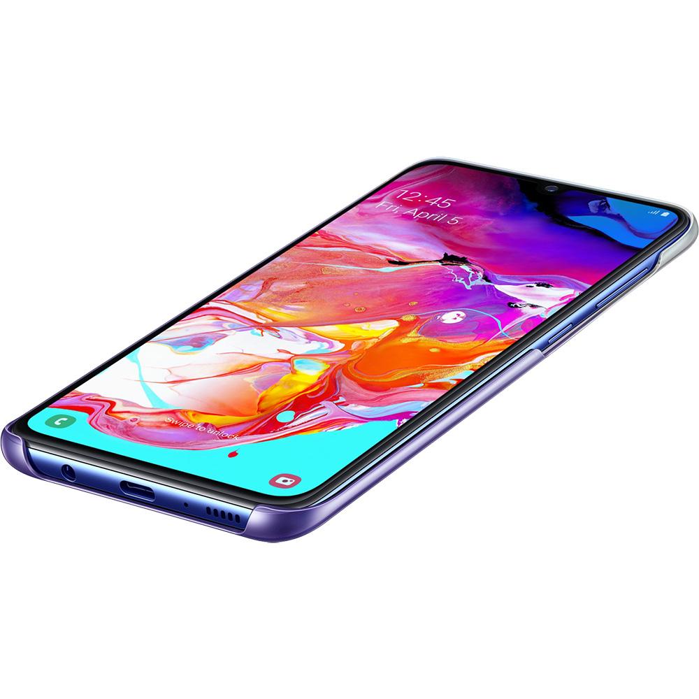 Husa Capac Spate Gradation Violet SAMSUNG Galaxy A70