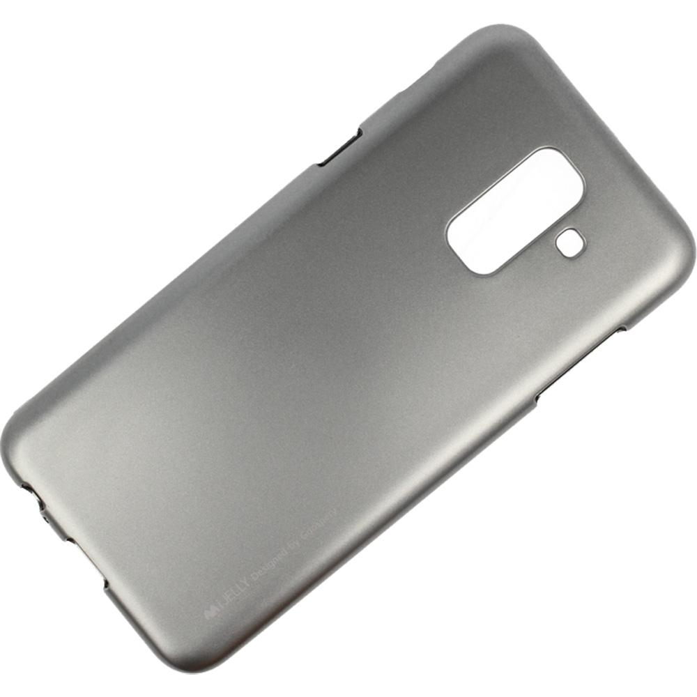 Husa Capac Spate Jelly Gri SAMSUNG Galaxy A6 (2018)