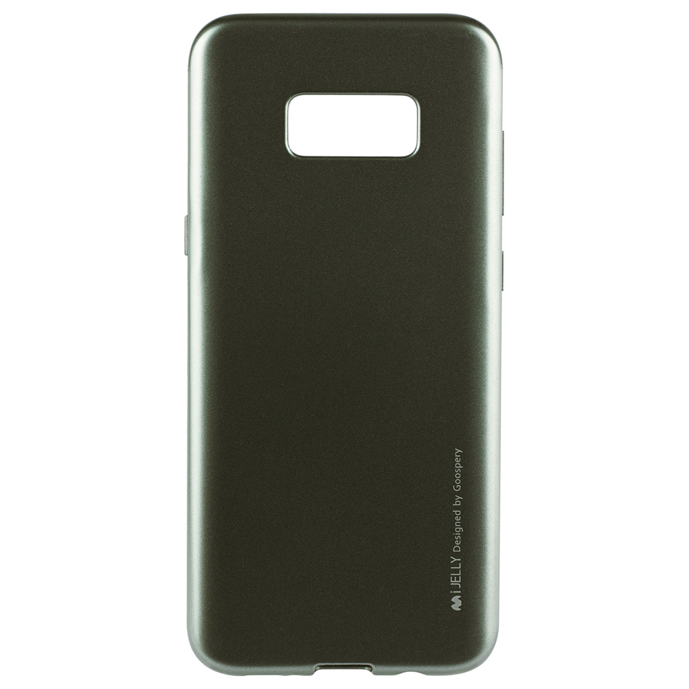 Husa Capac Spate Jelly Gri SAMSUNG Galaxy S8 Plus