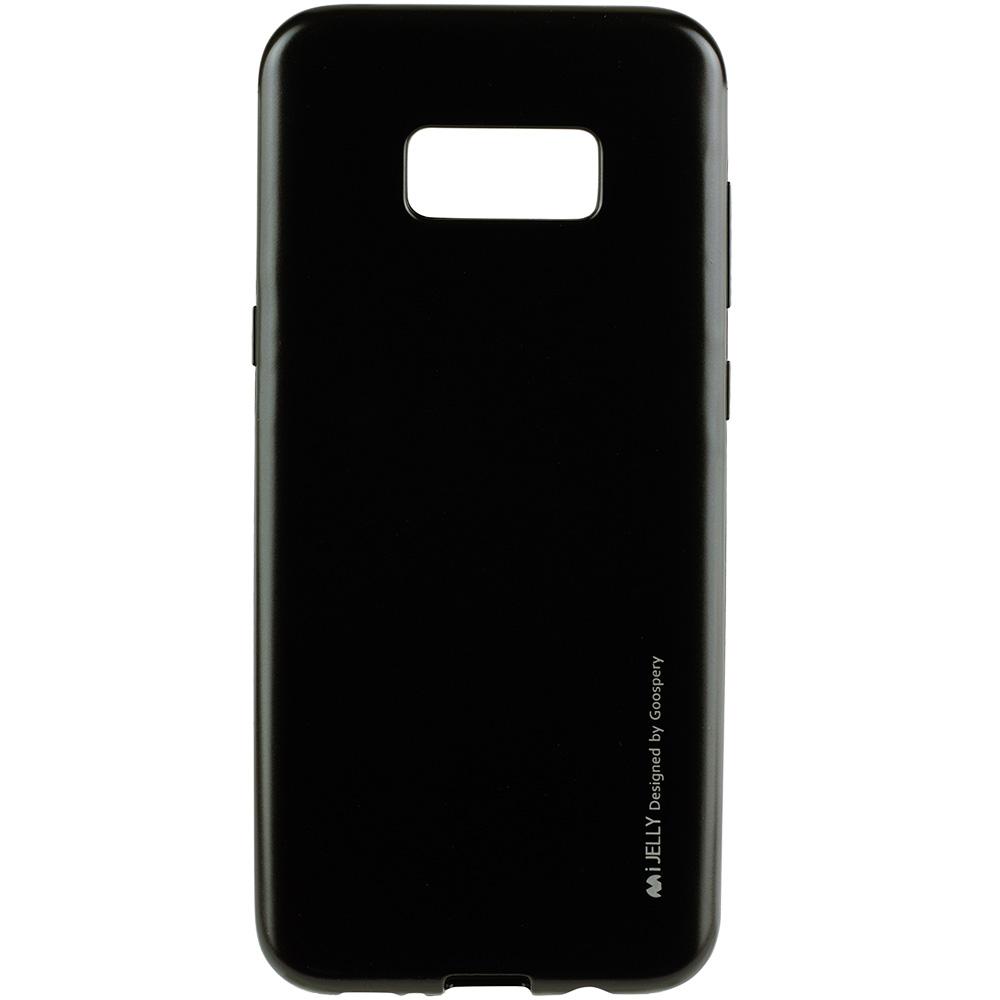 Husa Capac Spate Jelly Negru SAMSUNG Galaxy S8 Plus