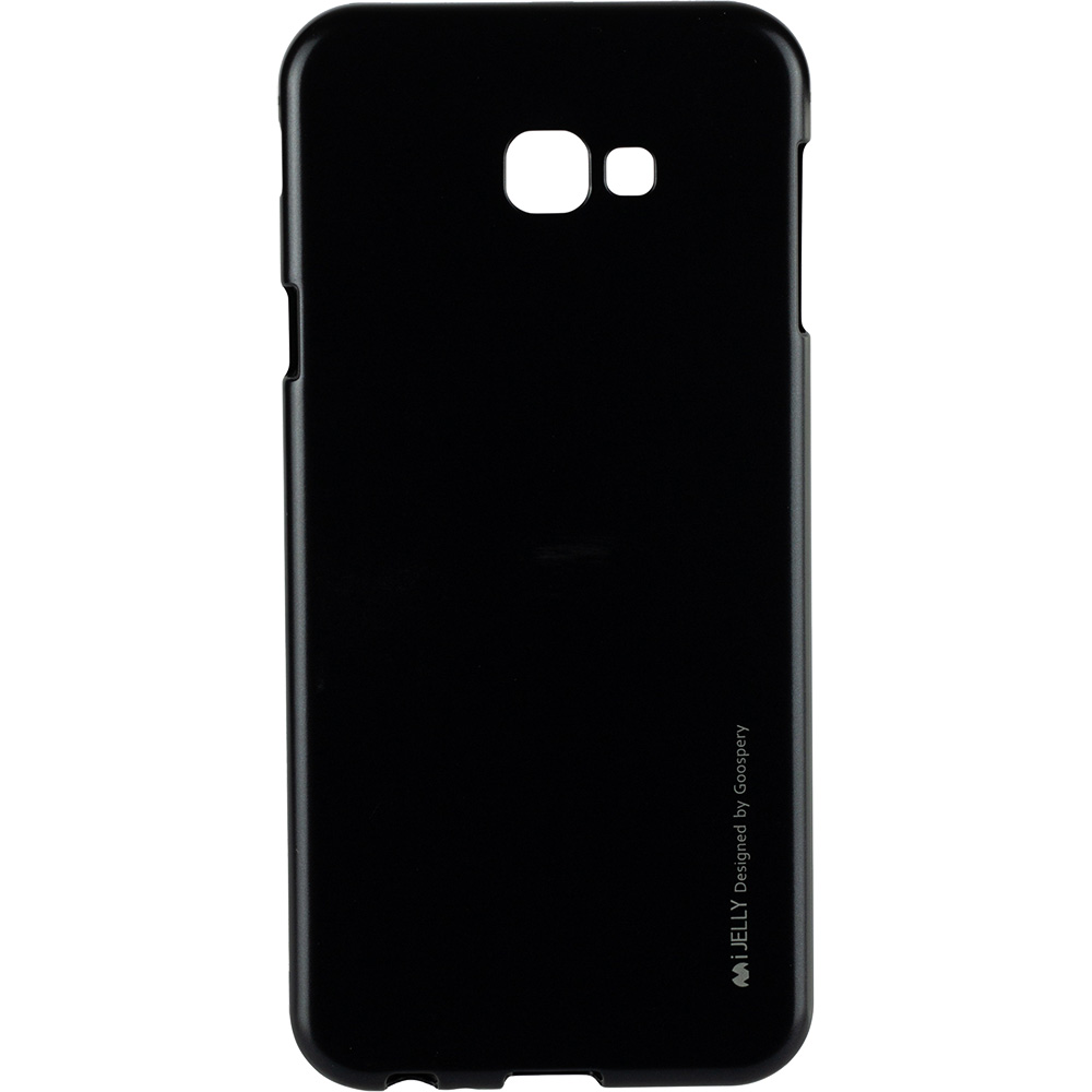 Husa Capac Spate Jelly Negru SAMSUNG Galaxy J4 Plus 2018