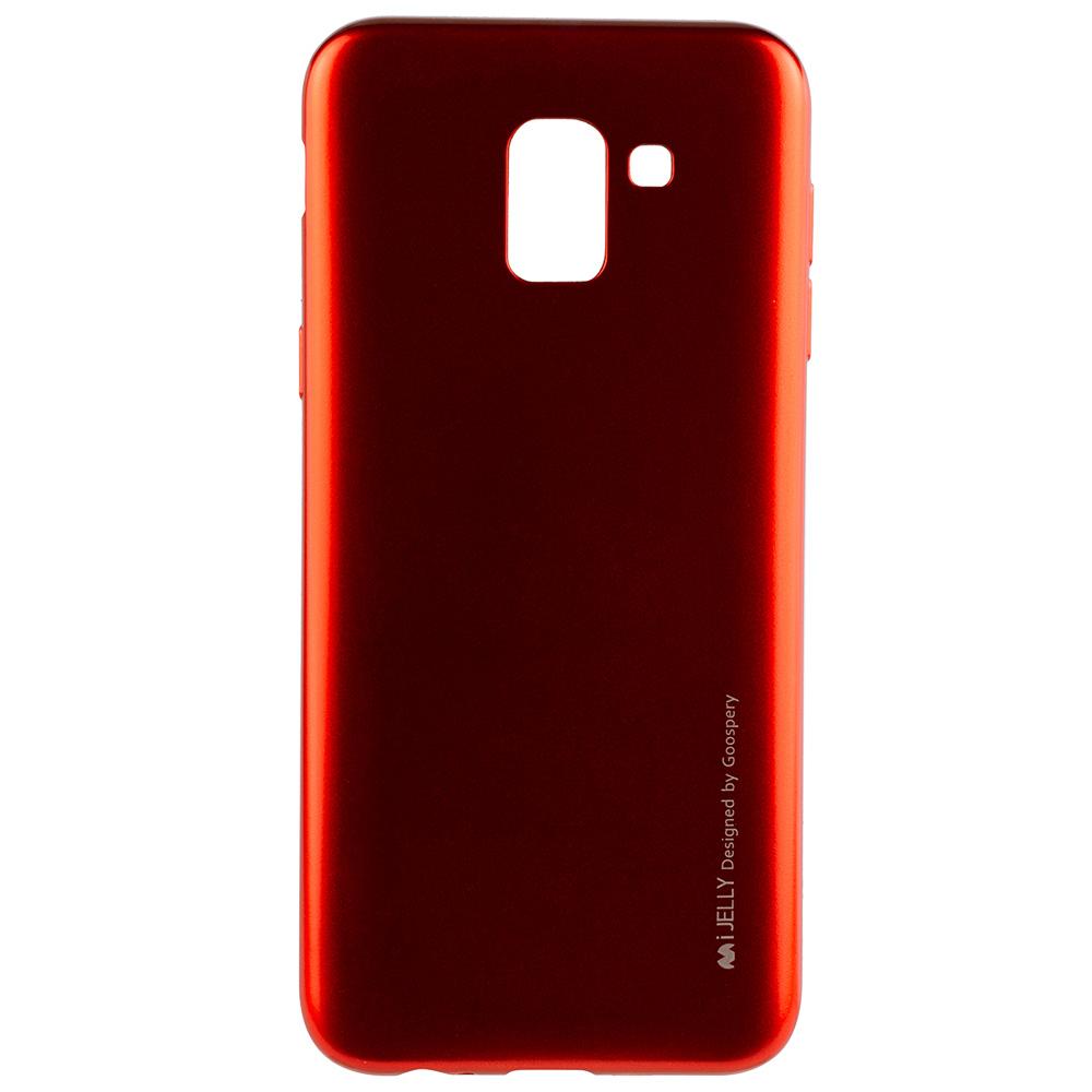 Husa Capac Spate Jelly Rosu SAMSUNG Galaxy J6 2018