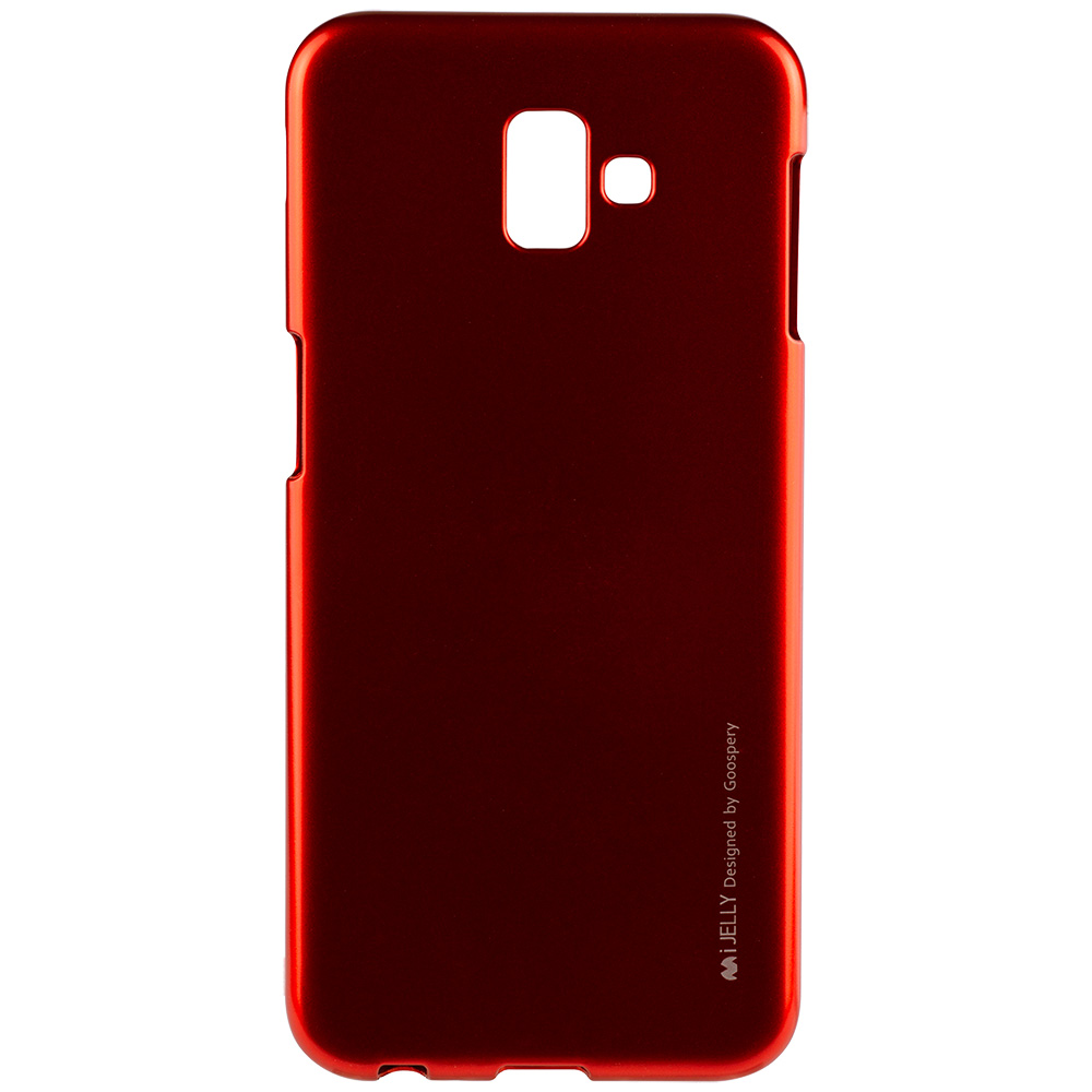 Husa Capac Spate Jelly Rosu SAMSUNG Galaxy J6 Plus