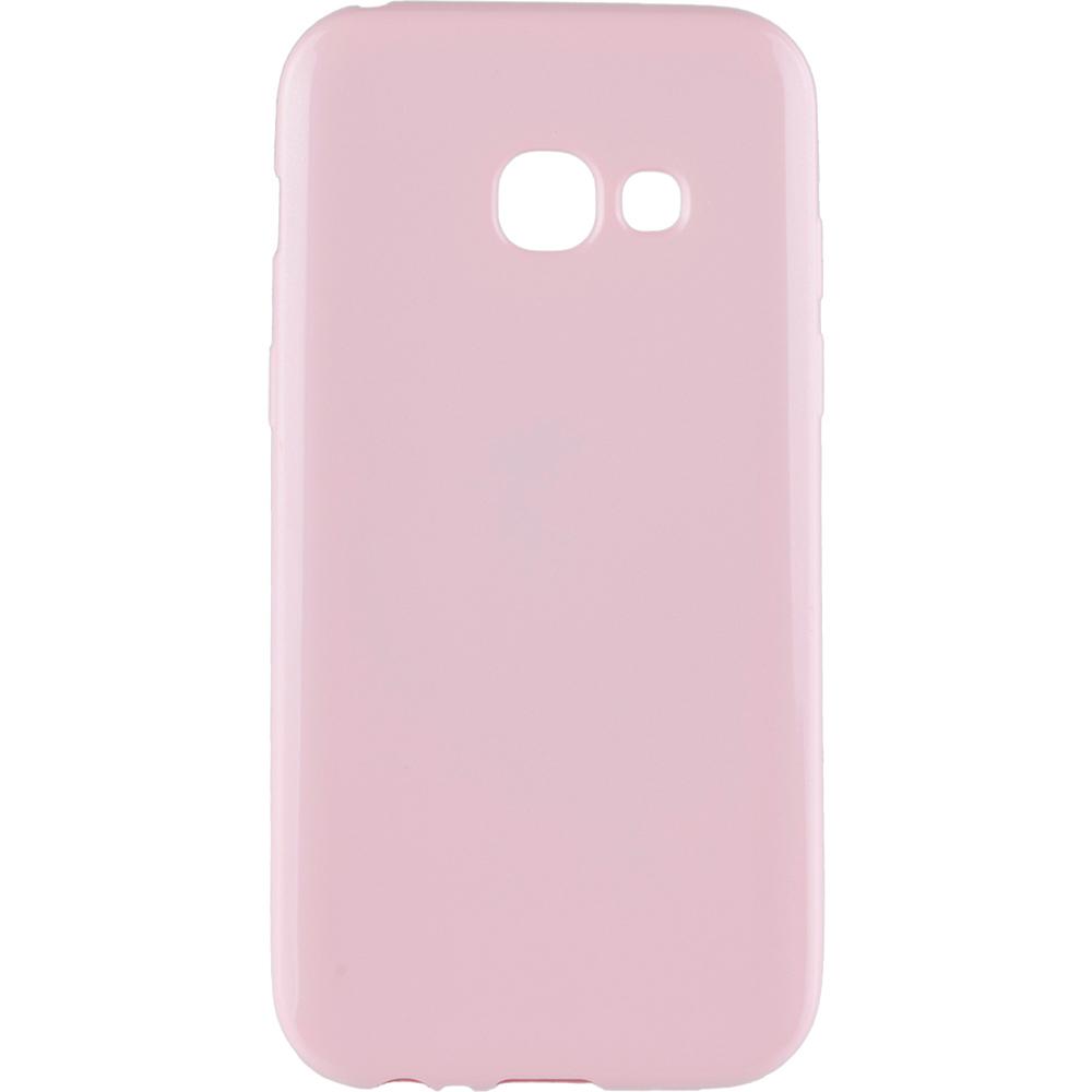 Husa Capac Spate Jelly Roz SAMSUNG Galaxy A3 2017